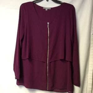 NY Collection Blouse Size Med